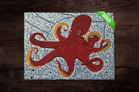 'Stanley the Octopus' Mosaic