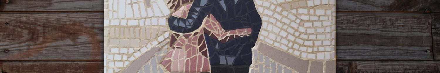 'We will walk together' Mosaic