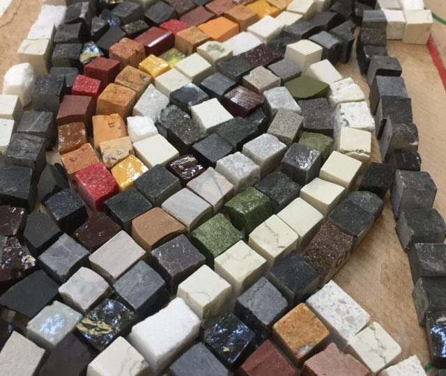 Mosaic Masterclasses – Indirect Setting in Cement (Day 2 & 3)