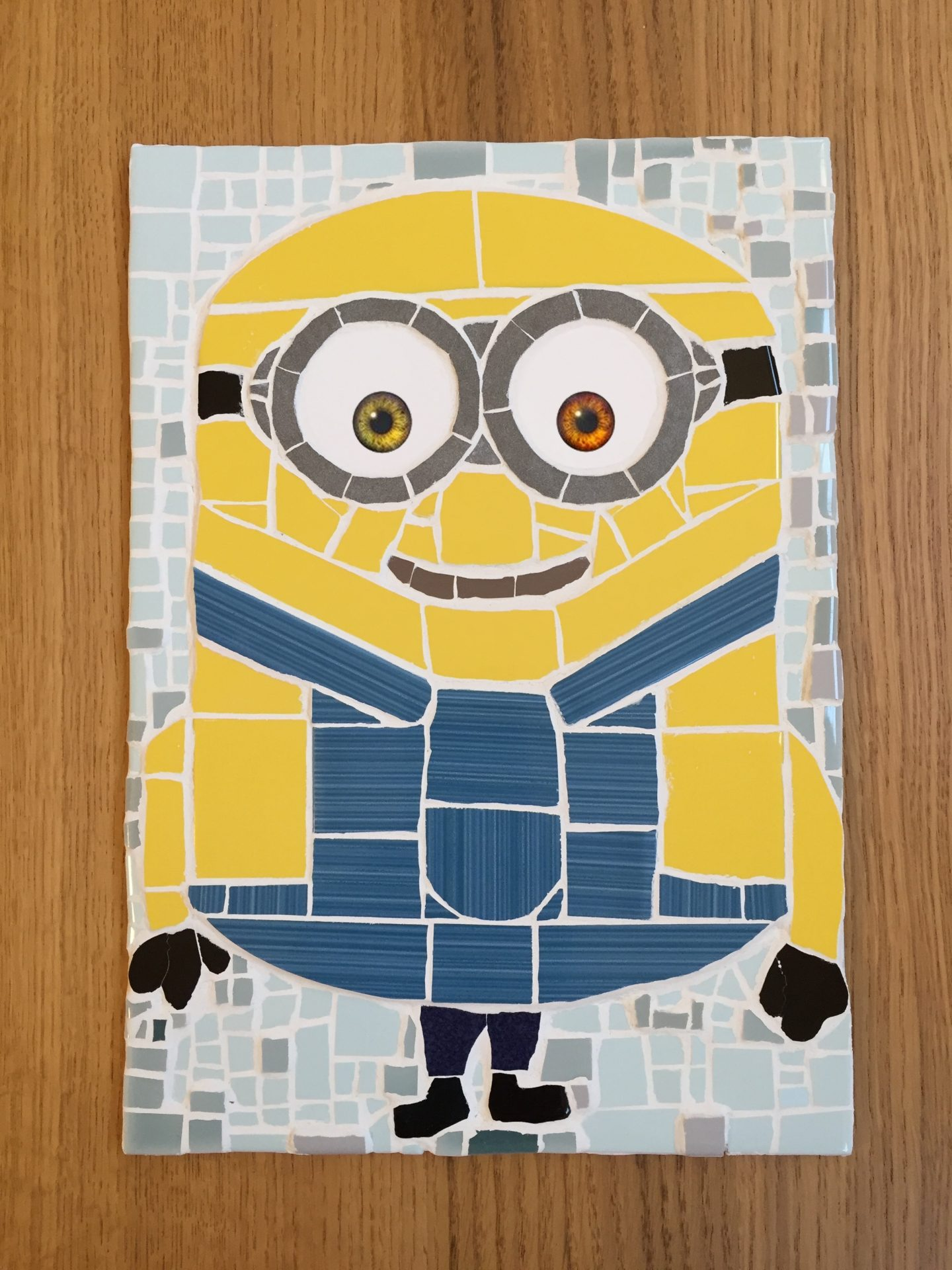Bob The Minion Mosaic Wild Geckos Mosaics Designs