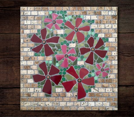 'Wall Flower' Mosaic