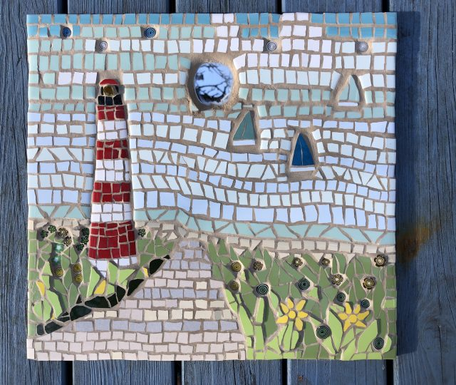 By the sea Mosaic
