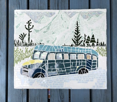 Magic Bus Mosaic